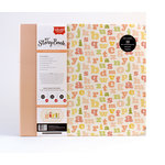 Carta Bella Paper - It's a Girl Collection - 12 x 12 My StoryBook Photo Journal - ABC123