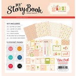 Carta Bella Paper - It's a Girl Collection - 12 x 12 My StoryBook Pocket Page Kit
