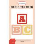 Carta Bella Paper - It's a Girl Collection - Designer Dies - ABC Blocks