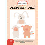 Carta Bella Paper - It's a Girl Collection - Designer Dies - Animal Set 3