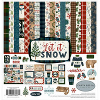 Carta Bella Paper - Let it Snow Collection - 12 x 12 Collection Kit