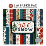 Carta Bella Paper - Let it Snow Collection - 6 x 6 Paper Pad