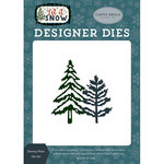 Carta Bella Paper - Let it Snow Collection - Designer Dies - Snowy Pines