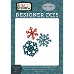 Carta Bella Paper - Let it Snow Collection - Designer Dies - Wonderland Snow