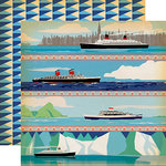 Carta Bella Paper - Let's Cruise Collection - 12 x 12 Double Sided Paper - Sea You Later