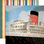 Carta Bella Paper - Let's Cruise Collection - 12 x 12 Double Sided Paper - BonVoyage