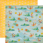 Carta Bella Paper - Let's Cruise Collection - 12 x 12 Double Sided Paper - Caribbean