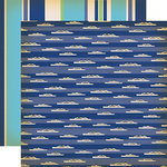 Carta Bella Paper - Let's Cruise Collection - 12 x 12 Double Sided Paper - Cruise Ships