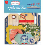 Carta Bella Paper - Let's Cruise Collection - Ephemera - Frames and Tags