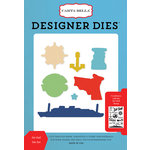 Carta Bella Paper - Let's Cruise Collection - Deisgner Dies - Set Sail