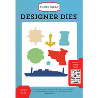 Carta Bella Paper - Let's Cruise Collection - Deisgner Dies - Set Sail