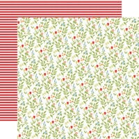 Carta Bella Paper - Farmhouse Living Collection - 12 x 12 Double Sided Paper - Farmhouse Floral