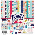 Carta Bella Paper - Let's Travel Collection - 12 x 12 Collection Kit