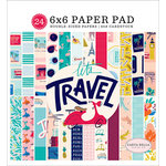 Carta Bella Paper - Let's Travel Collection - 6 x 6 Paper Pad
