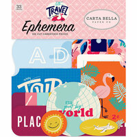 Carta Bella Paper - Let's Travel Collection - Ephemera