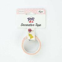 Carta Bella Paper - Let's Travel Collection - Decorative Tape - Travel Destinations