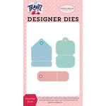 Carta Bella Paper - Let's Travel Collection - Designer Dies - Travel Tags