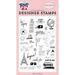 Carta Bella Paper - Let's Travel Collection - Clear Photopolymer Stamps - Let's Go