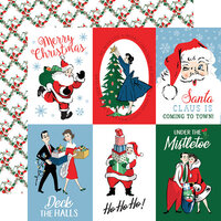Carta Bella Paper - Merry Christmas Collection - 12 x 12 Double Sided Paper - 4 x 6 Journaling Cards
