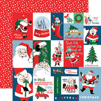 Carta Bella Paper - Merry Christmas Collection - 12 x 12 Double Sided Paper - Christmas Squares