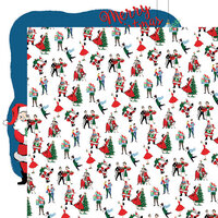 Carta Bella Paper - Merry Christmas Collection - 12 x 12 Double Sided Paper - Christmas Prep