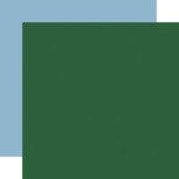 Carta Bella Paper - Merry Christmas Collection - 12 x 12 Double Sided Paper - Dark Green