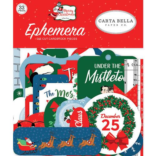 Carta Bella Paper - Merry Christmas Collection - Ephemera