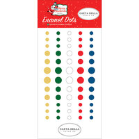 Carta Bella Paper - Merry Christmas Collection - Enamel Dots