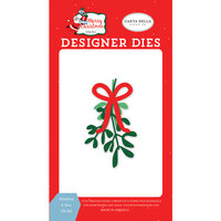 Carta Bella Paper - Merry Christmas Collection - Designer Dies - Mistletoe and Bow