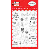 Carta Bella Paper - Merry Christmas Collection - Clear Photopolymer Stamps - Oh What Fun