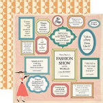 Carta Bella Paper - Metropolitan Girl Collection - 12 x 12 Double Sided Paper - Affirmations