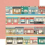 Carta Bella Paper - Metropolitan Girl Collection - 12 x 12 Double Sided Paper - Border Strips