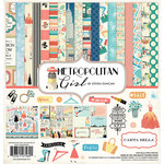 Carta Bella Paper - Metropolitan Girl Collection - 12 x 12 Collection Kit
