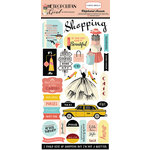 Carta Bella Paper - Metropolitan Girl Collection - Chipboard Stickers