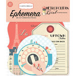 Carta Bella Paper - Metropolitan Girl Collection - Ephemera