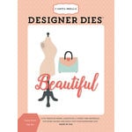 Carta Bella Paper - Metropolitan Girl Collection - Designer Dies - Dress Form