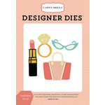 Carta Bella Paper - Metropolitan Girl Collection - Designer Dies - Fashionista