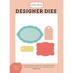 Carta Bella Paper - Metropolitan Girl Collection - Designer Dies - Fashion Tags
