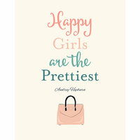 Carta Bella Paper - Metropolitan Girl Collection - Art Print - 11 x 14 - Happy Girls