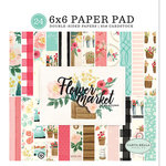 Carta Bella Paper - Flower Market Collection - 6 x 6 Paper Pad