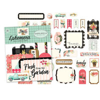 Carta Bella Paper - Flower Market Collection - 33 Piece - Ephemera Pack