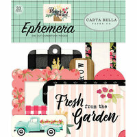 Carta Bella Paper - Flower Market Collection - Ephemera
