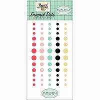 Carta Bella Paper - Flower Market Collection - Enamel Dots