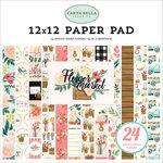 Carta Bella Paper - Flower Market Collection - 12 x 12 Paper Pad