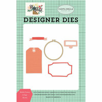 Carta Bella Paper - Flower Market Collection - Designer Dies - Market Frames and Tags