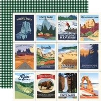 Carta Bella Paper - Outdoor Adventures Collection - 12 x 12 Double Sided Paper - Outdoor Wonders