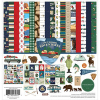 Carta Bella Paper - Outdoor Adventures Collection - 12 x 12 Collection Kit