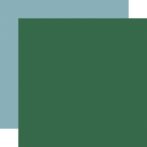 Carta Bella Paper - Outdoor Adventures Collection - 12 x 12 Double Sided Paper - Green