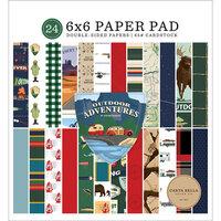 Carta Bella Paper - Outdoor Adventures Collection - 6 x 6 Paper Pad