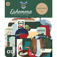Carta Bella Paper - Outdoor Adventures Collection - Ephemera